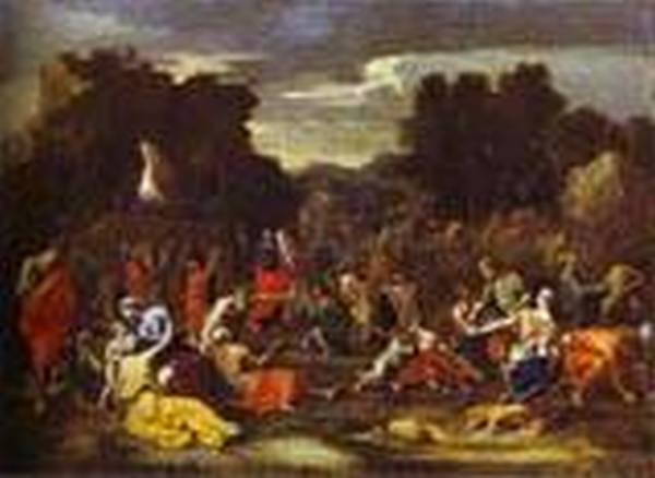 Gathering of manna 1640s xx paris france